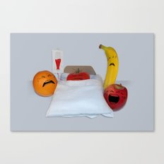I'm Sorry He's A Vegetable Canvas Print