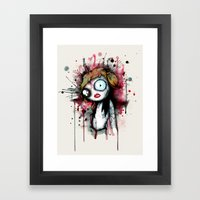 Man That You Fear Framed Art Print