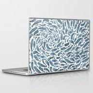 Laptop & iPad Skin featuring Whale, Sperm Whale by Elena O'Neill