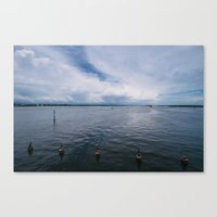 Lemon Bay II Canvas Print