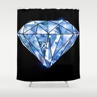 Facets you like Shower Curtain