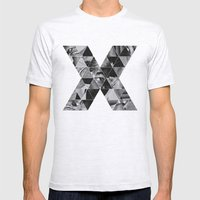 Malcolm x Mens Fitted Tee Ash Grey SMALL