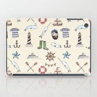 Nautical Pattern iPad Case