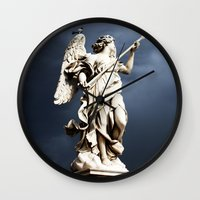 Storm Coming Wall Clock