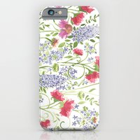 Flowering Meadow - Watercolor iPhone 6 Slim Case
