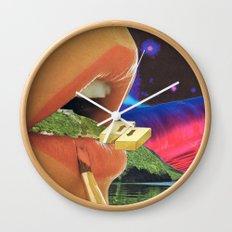 Colossal Balance of Subjects Wall Clock