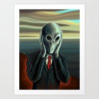 Silent Scream Art Print