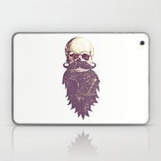 Beard Skull 3 Laptop & iPad Skin