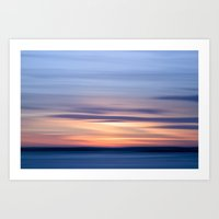 Painting the sky Art Print