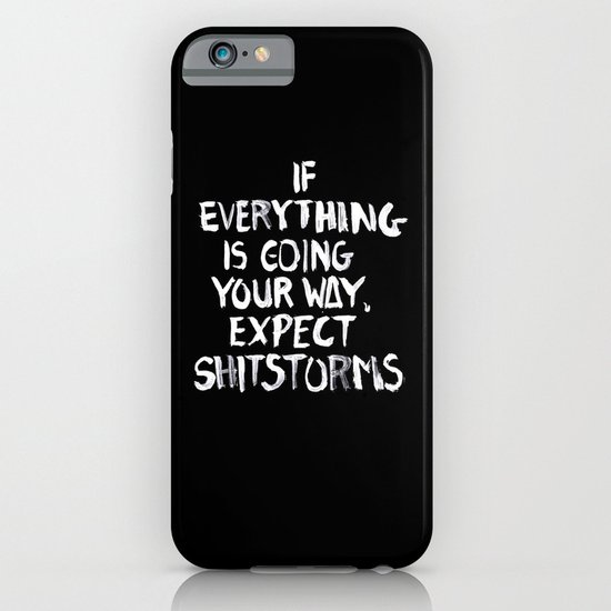Shitstorms iPhone & iPod Case