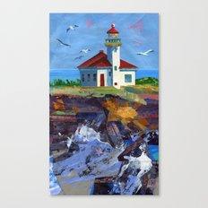 Cape Arago Lighthouse Canvas Print