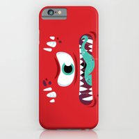 iPhone & iPod Case featuring Baddest Red Monster! by Marco Angeles