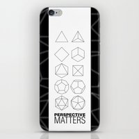 Perspective Matters iPhone & iPod Skin