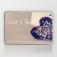 Love is Sweet  - JUSTART © Laptop & iPad Skin