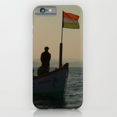 Dolphin Boat with Indian Flag Palolem iPhone 6 Slim Case