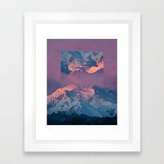 With abandon. Framed Art Print