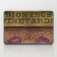 Dionysus Vineyards iPad Case