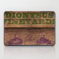 Dionysus Vineyards iPad Case