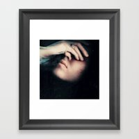 I Can Feel You Framed Art Print