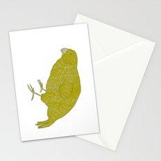 Kakapo Says Hello! Stationery Cards
