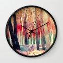 Woods Wall Clock