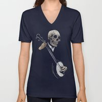 Skullboys' Banjo Blues Unisex V-Neck