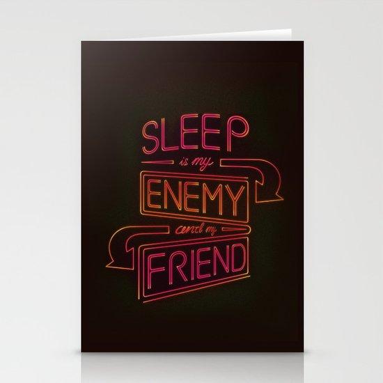 Sleep Stationery Card