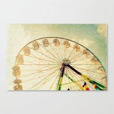 funtastic wheel Canvas Print