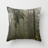 Forest#3 Throw Pillow