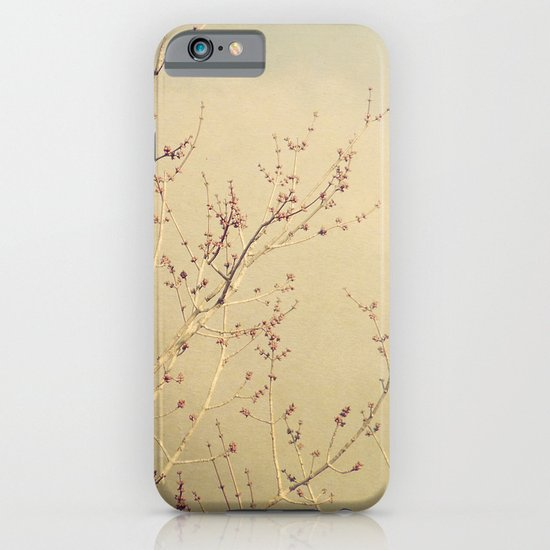Vintage February Branches iPhone & iPod Case