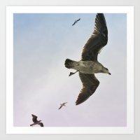 Flight of Fancy 2 Art Print