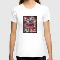 1966 Mustang  Womens Fitted Tee White SMALL