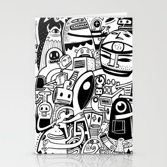 BIG - BW Stationery Card