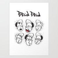 Brun Brun Art Print