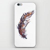 Feather // Illustration iPhone & iPod Skin