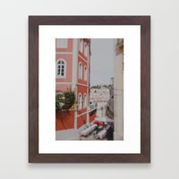 Summer in Lisbon Framed Art Print