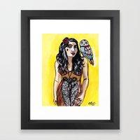 You Found Me Framed Art Print