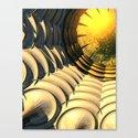 Abstract Sky Portal Canvas Print