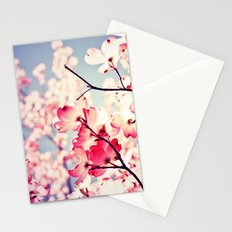 Dialogue With the Sky - Blue tones Stationery Cards