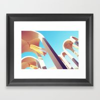 Sway Framed Art Print