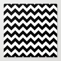 Chevron. Canvas Print