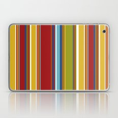 Colorful Striped Cabana … Laptop & iPad Skin