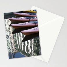 Kayak Reflections Stationery Cards