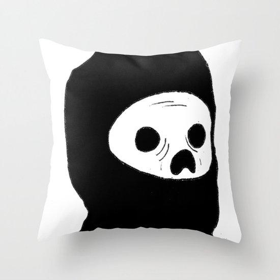 Stealth Zombie  Throw Pillow