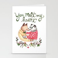 Melt My Heart Stationery Cards