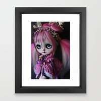 LITTLE OCTOPUS CUSTOM BL… Framed Art Print