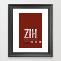 ZIH Framed Art Print