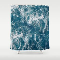 Sea water Shower Curtain