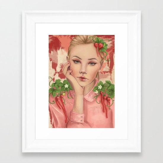 Astrella Framed Art Print