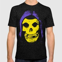 Skeletorfits1 Mens Fitted Tee Tri-Black SMALL